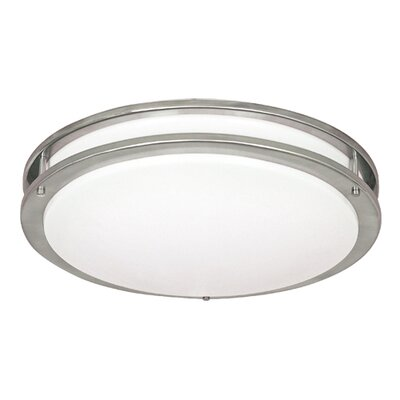 2 Light Flush Mount Image