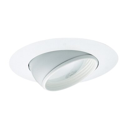 Eyebal 6 Recessed Trim Trim Finish: White Image