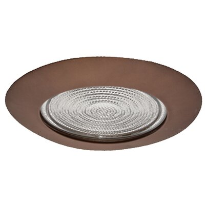 Metal Fresnel Shower 6 Recessed Trim Image