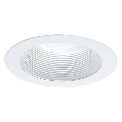 R20 4 Recessed Trim Finish: White Image