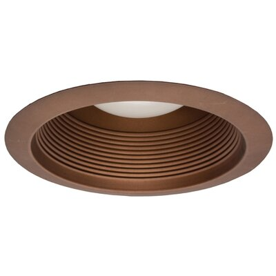 R30 Airtight Cone 6 Recessed Baffle Trim Finish: White Image