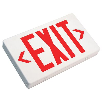 Image of Exit Sign AC Only