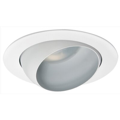 Image of Eyeball 5 Recessed Trim Finish: White