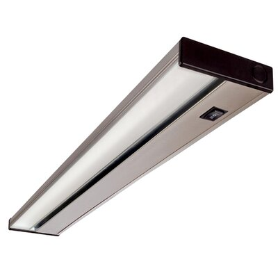 Image of LED Under Cabinet Bar Light Size: 1.13 H x 21 W x 3.5 D Finish: Nickel