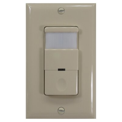 Decor 180D Occupancy Vaccancy Sensor Finish: Ivory