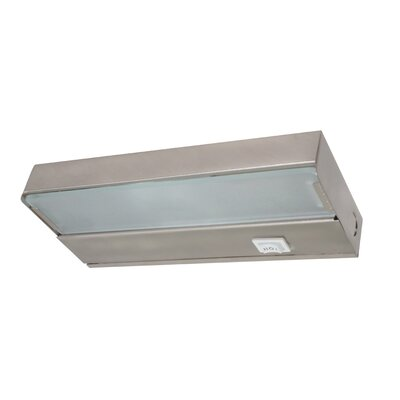 8 Xenon Under Cabinet Bar Light Finish: Pewter