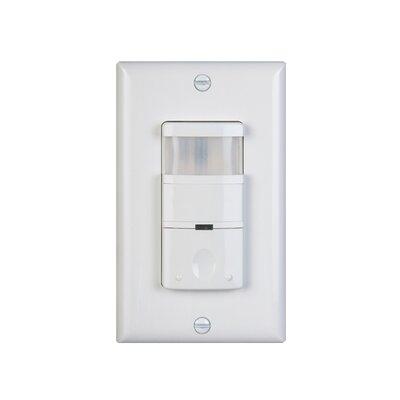 120 - 277V 180D Occupancy Sensor Finish: White