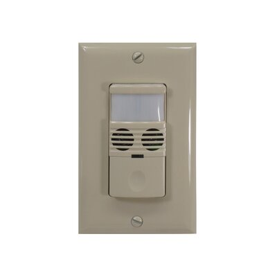 180D Dual Technology Occupancy Sensor Finish: Ivory
