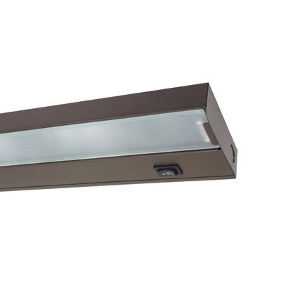 30 Xenon Under Cabinet Bar Light Finish: Bronze