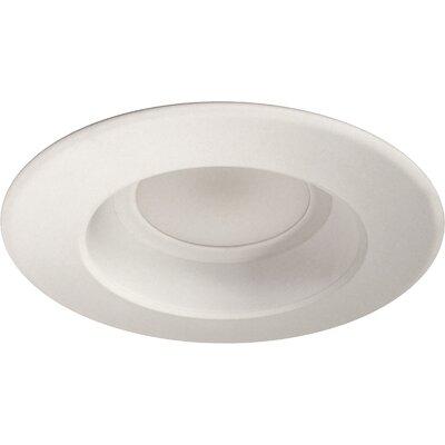 D Series 6 LED Recessed Retrofit Downlight Finish: White, Bulb Color Temperature: 4000K