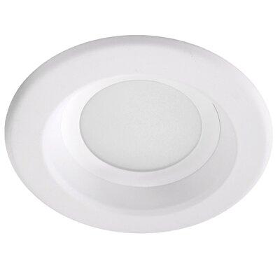 Baffle 4 LED Recessed Retrofit Downlight Finish: White, Bulb Color Temperature: 3000K