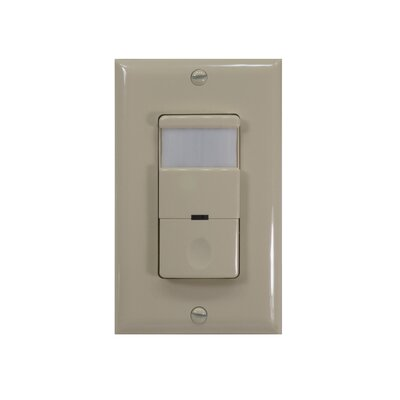 120 - 277V 180D Occupancy Sensor Finish: Ivory