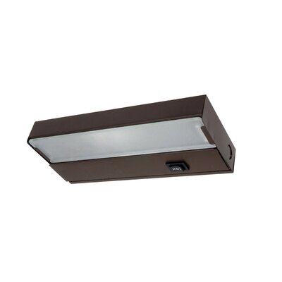 8 Xenon Under Cabinet Bar Light Finish: Bronze