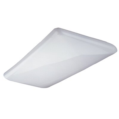 Decorative Cloud High-Output LED Semi Flush Mount