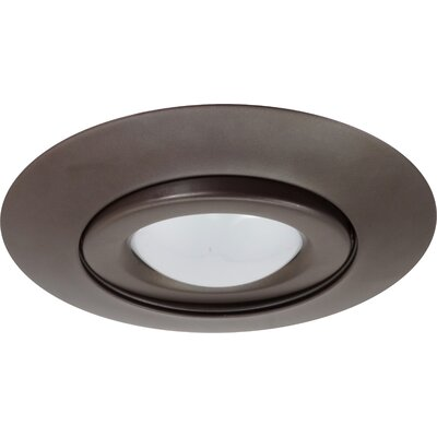 Gimbal Ring 6 Recessed Trim Finish: Oil Rubbed Bronze