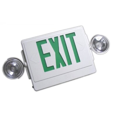 2-Light Emergency Exit Sign