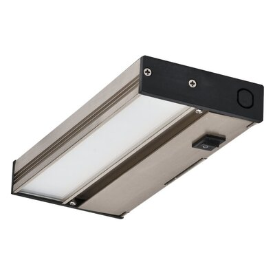 8 LED Under Cabinet Bar Light Finish: Nickel