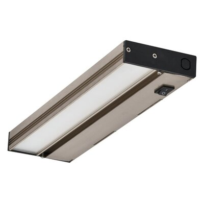 12 LED Under Cabinet Bar Light Finish: Nickel