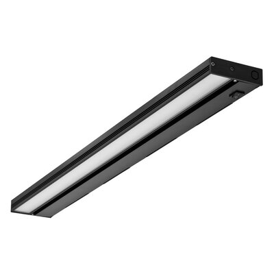 30 LED Under Cabinet Bar Light Finish: Black