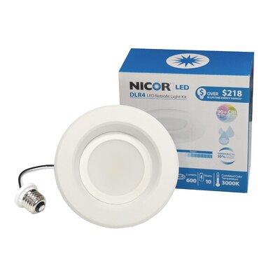 D- Series Open Trim 4 LED Retrofit Downlight Bulb Color Temperature: 2700K