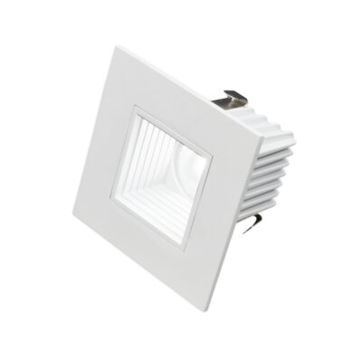 Square LED Downlight Recessed Housing Finish: White