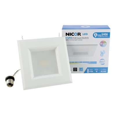 Square LED Recessed Housing Bulb Color Temperature: 2700K