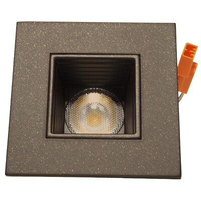 Square LED Downlight Recessed Housing Finish: Oil-Rubbed Bronze