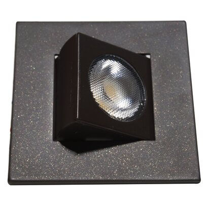 Square Eyeball LED Downlight Recessed Housing Finish: Oil-Rubbed Bronze