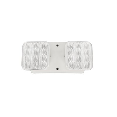 Remote Dual Head Fixture LED Emergency Light