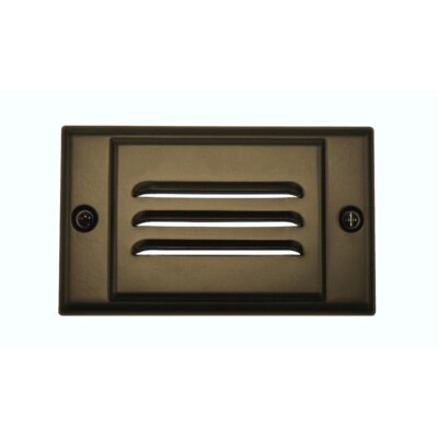 Horizontal Faceplate LED Step Light Color: Oil-Rubbed Bronze