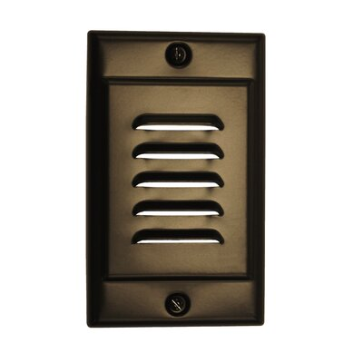 Vertical Faceplate LED Socket Plate Color: Oil-Rubbed Bronze
