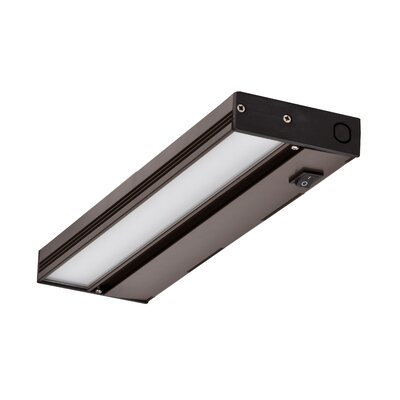 Hardwired Hi/Low/Off  Slim LED 8 Under Cabinet Bar Light Finish: Oil-Rubbed Bronze