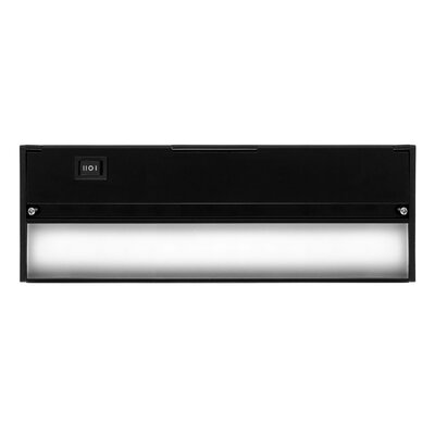Hardwired Hi/Low/Off  Slim LED 8 Under Cabinet Bar Light Finish: Black