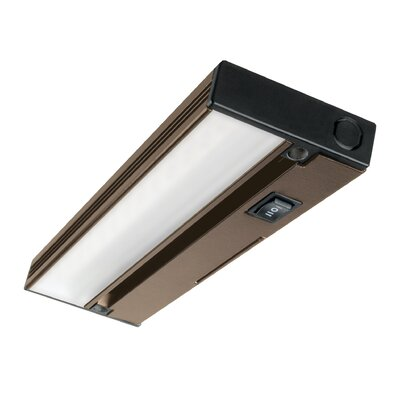 Hardwired Hi/Low/Off  Slim LED 12.5 Under Cabinet Bar Light Finish: Oil-Rubbed Bronze