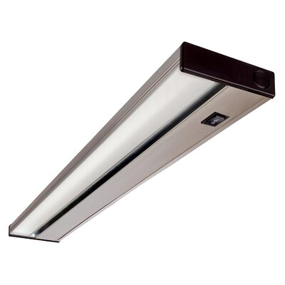 Hardwired Hi/Low/Off  Slim LED 21.5 Under Cabinet Bar Light Finish: Nickel