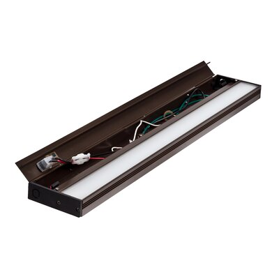 Hardwired Hi/Low/Off  Slim LED 21.5 Under Cabinet Bar Light Finish: Oil-Rubbed Bronze