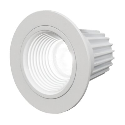 LED Recessed Housing Finish: White