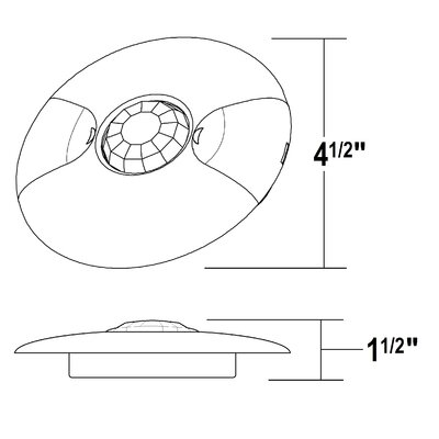 360� Ceiling Occupancy Motion Wall Mounted Sensor