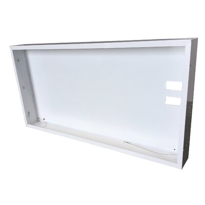 Surface Mount Frame Kit for LED Troffer Size: 13 H x 48.88 W x 5.13 D