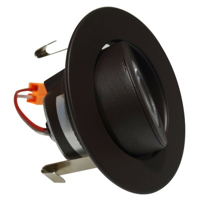 Gimbal Individual Spotlight Finish: Oil-Rubbed Bronze, Bulb: 3000K
