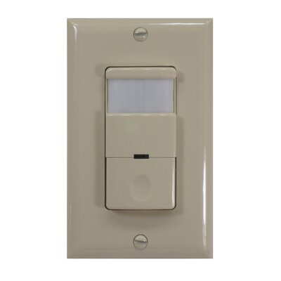 Low Power 180D Occupancy Vacancy Sensor Finish: Ivory