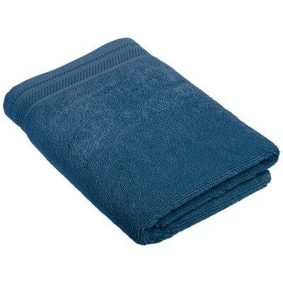 6-Piece Cotton Towel Set Color: Denim