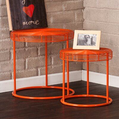 Eontic 2 Piece Nesting Table Set