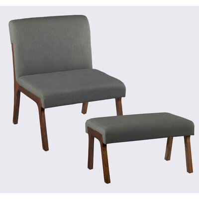 Plexus Side Chair And Ottoman