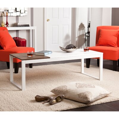 Nelly Coffee Table Color: White