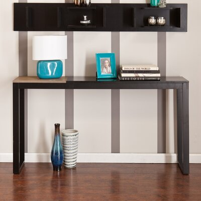 Lydock Console Table Finish: Black