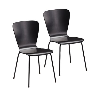 Cadby Side Chair Finish: Satin Black