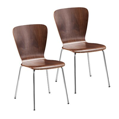 Cadby Side Chair Finish: Walnut