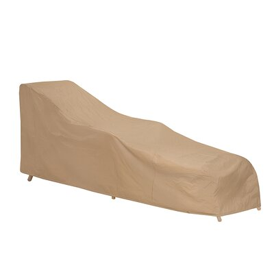 Double Chaise Lounge Cover Color: Tan