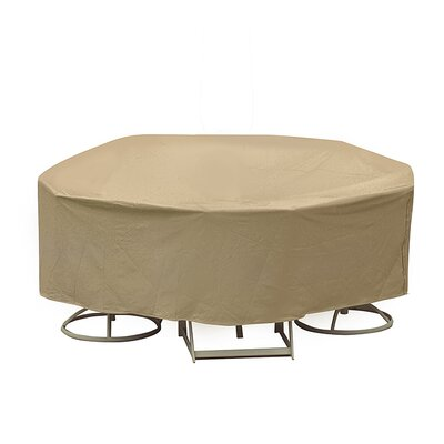 Bar Height Dining Set Cover Color: Tan
